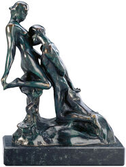 """Skulptur """"Ewiges Idol"""" (Idole éternelle), Bronze"""
