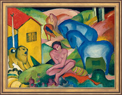 """Bild """"Traum"""" (1912), gerahmt"""