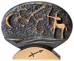 """Sternzeichen-Skulptur """"Schütze"""" (23.11.-21.12.), Bronze"""