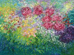"""Bild """"Garten"""" (2011) (Unikat)"""