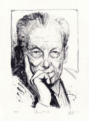 """Bild """"Willy Brandt"""", ungerahmt"""