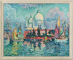 "Bild ""Santa Maria della Salute"" (1908), gerahmt"
