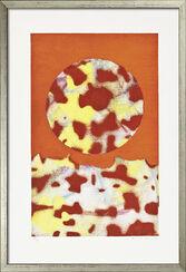 """Bild """"Landschaft"""" (1971), gerahmt"""