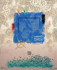 """Bild """"Wasser"""" (2006), ungerahmt"""