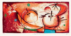 """Bild """"Abrazo"""" (2007), ungerahmt"""