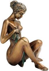 """Skulptur """"Badeskizze"""", Bronze"""