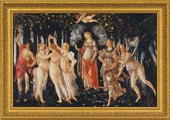 "Bild ""Frühling (Primavera)"" (1477), gerahmt"