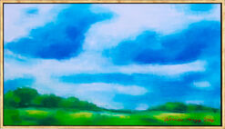 """Bild """"Grüne Heide"""" (2014) (Unikat)"""