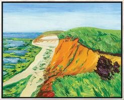 """Bild """"Sylt Morsum-Kliff"""" (2012), gerahmt"""
