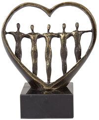 """Skulptur """"In Liebe verbunden"""""""