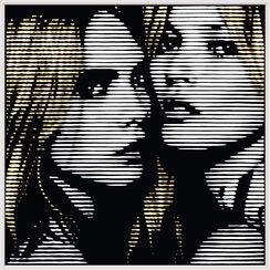 """Bild """"Cara and Kate_02"""" (2015) (Unikat)"""