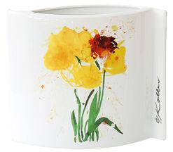 """Porzellanvase """"Gelbe Tulpen"""""""
