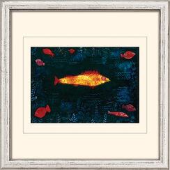 """Bild """"Der goldene Fisch"""" (1925), gerahmt"""