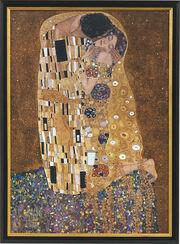 """Bild """"Der Kuss"""" (1907-08), gerahmt"""