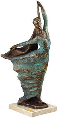 "Skulptur ""Performance"", Kunstguss"