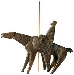 "Skulptur ""Don Quijote"", Bronze"