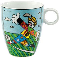 """Porzellanbecher """"Goal!"""""""
