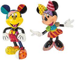 """Skulpturenset """"Minnie und Micky"""", Kunstguss"""
