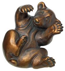 "Skulptur ""Bärenjunges"", Version in Kunstbronze"