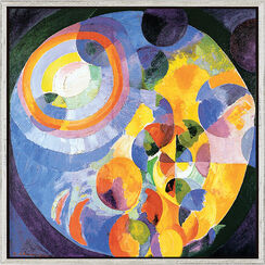 "Bild ""Formes Circulaires"" (1912), gerahmt"