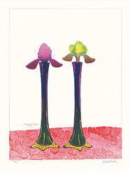 """Bild """"Schwertlilien"""" (2003)"""