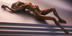 """Skulptur """"L' Attesa"""" (1999), Bronze"""
