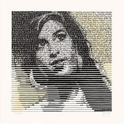 "Bild ""Amy and her drinks - Armagnac"" (2014) (Unikat)"