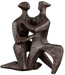 """Skulptur """"Das Bekenntnis der Liebe"""", Bronze"""