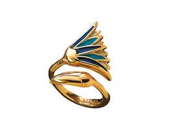 Lotusblüten-Ring