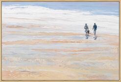 """Bild """"Das rauschende Meer"""" (2016) (Original / Unikat), gerahmt"""