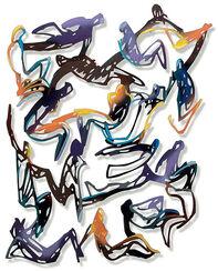 """Wandskulptur """"Relations"""" (2009)"""