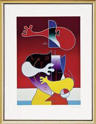 "Bild ""Figur 97"" (1997), gerahmt"