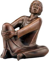 """Skulptur """"Der singende Mann"""" (1928), Reduktion in Bronze"""