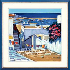 """Bild """"Linge au soleil à Mykonos"""" (2004), ungerahmt"""