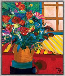 """Bild """"Blütenzauber"""" (2004) (Original / Unikat), gerahmt"""