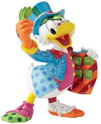 """Skulptur """"Onkel Scrooge - Dagobert Duck"""", Kunstguss"""