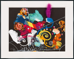 """Bild """"Vive la Liberté"""" (1990), gerahmt"""