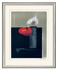 """Bild """"Rote und weiße Anthurie"""" (1999)"""