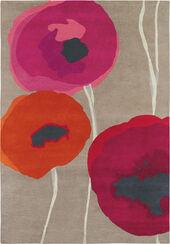 "Teppich ""Poppies"" (groß, 240 x 170 cm)"