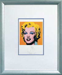 "Bild ""Shot Orange Marilyn"" (1967), gerahmt"