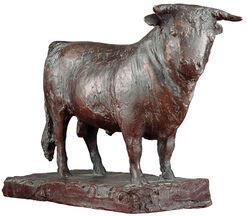 """Skulptur """"Stier"""" (1979), Bronze"""