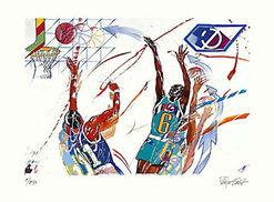 """Bild """"Basketball"""", ungerahmt"""