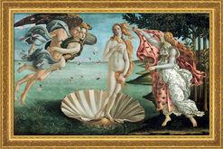 """Bild """"Die Geburt der Venus"""" (1484/86), gerahmt"""