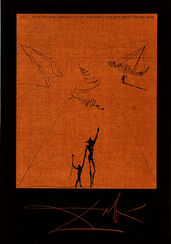 """Bildmappe """"Der alte Mann und das Meer"""" (1974), gerahmt"""