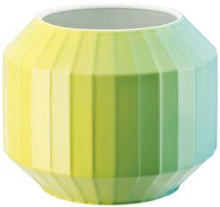 "Porzellanvase ""Hot-Spots - Lime Flush"" (klein, Höhe 16 cm)"