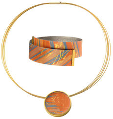 "Schmuckset ""Sunset"""