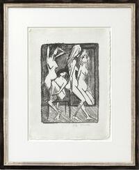 """Bild """"Drei Mädchen vor dem Spiegel"""" (1922)"""