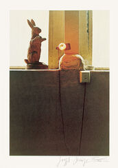 """Bild """"Auguren"""" (1982)"""
