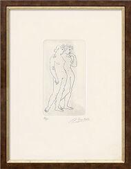 """Bild """"Zwei Mädchen"""" (1981)"""