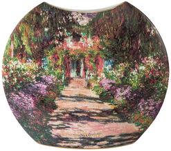 """Porzellanvase """"Garten in Giverny"""" mit Golddekor, kleine Version"""